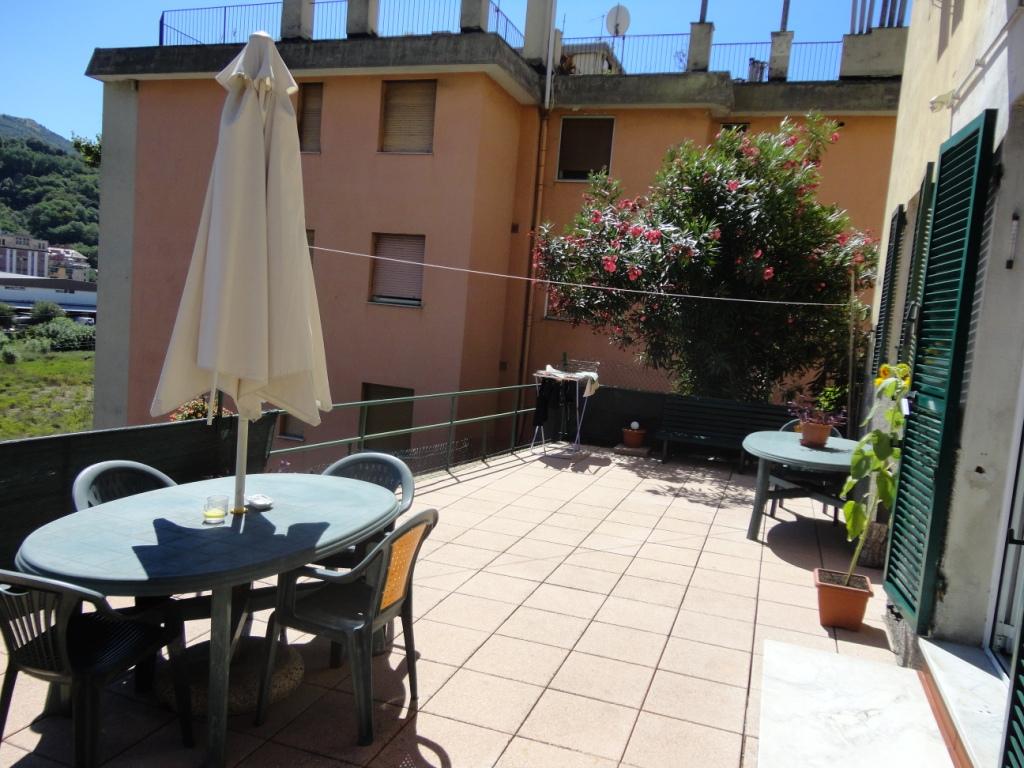 vendita appartamento terrazzo bolzaneto