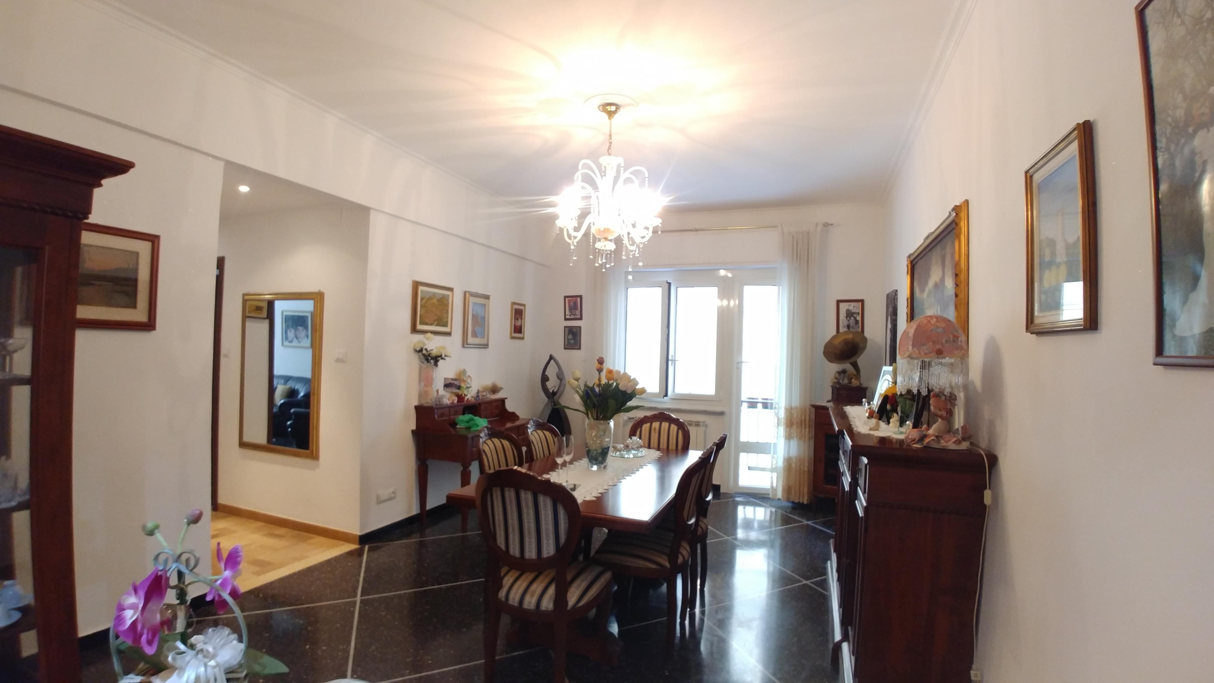 appartamento in vendita via bolzaneto