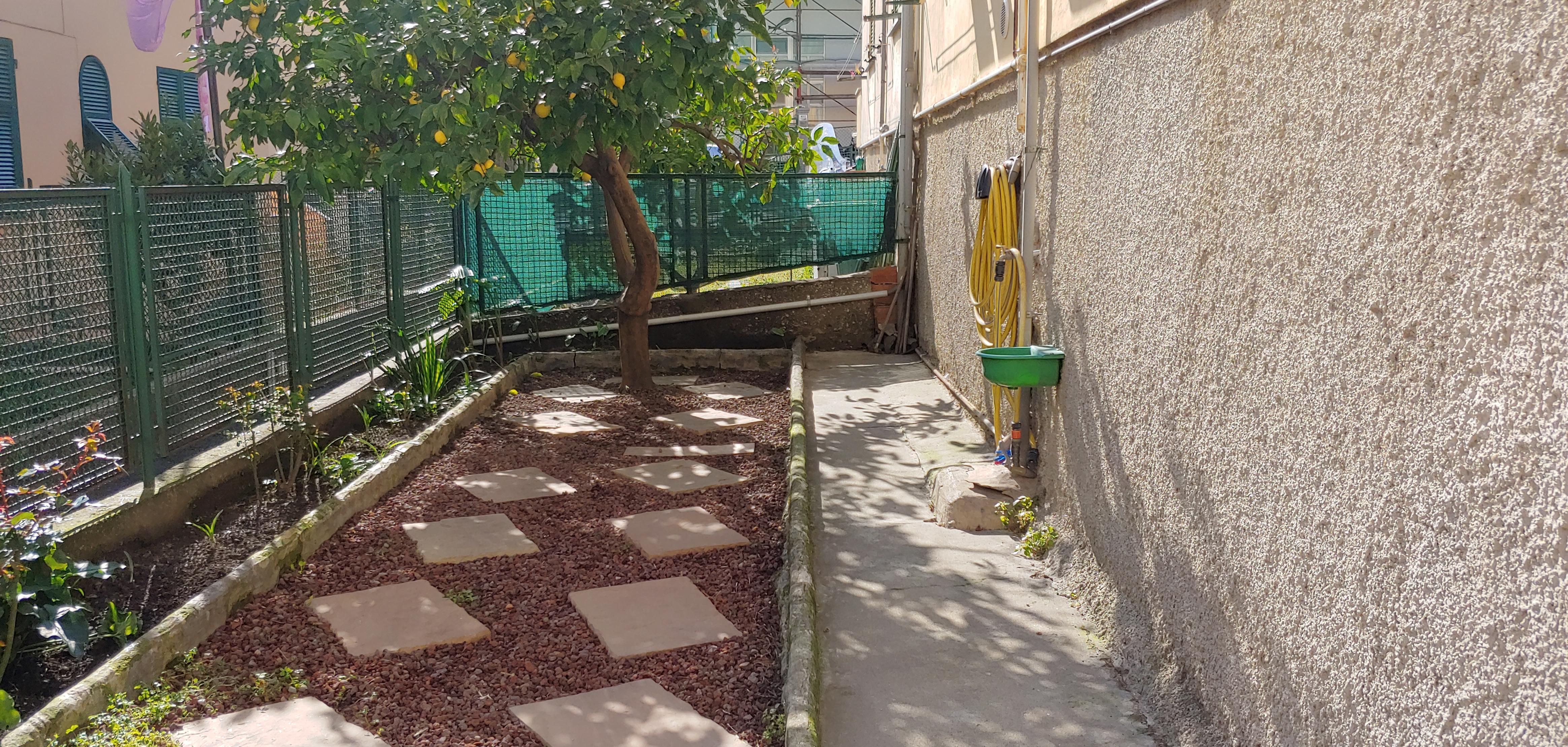 affitto via arrivabene arredato giardino contratto transitorio