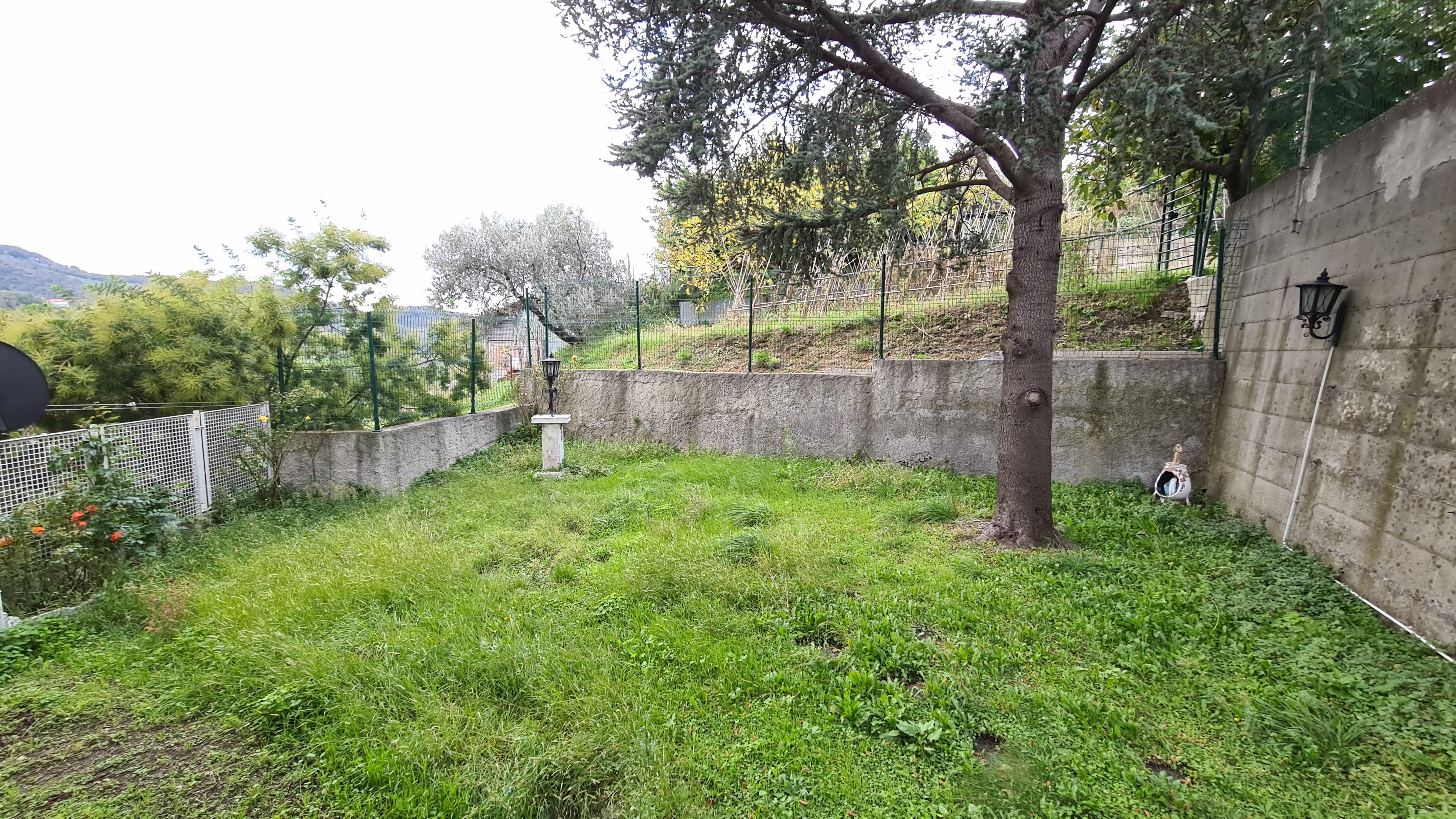 vendita appartamento con giardino via pergolesi cige