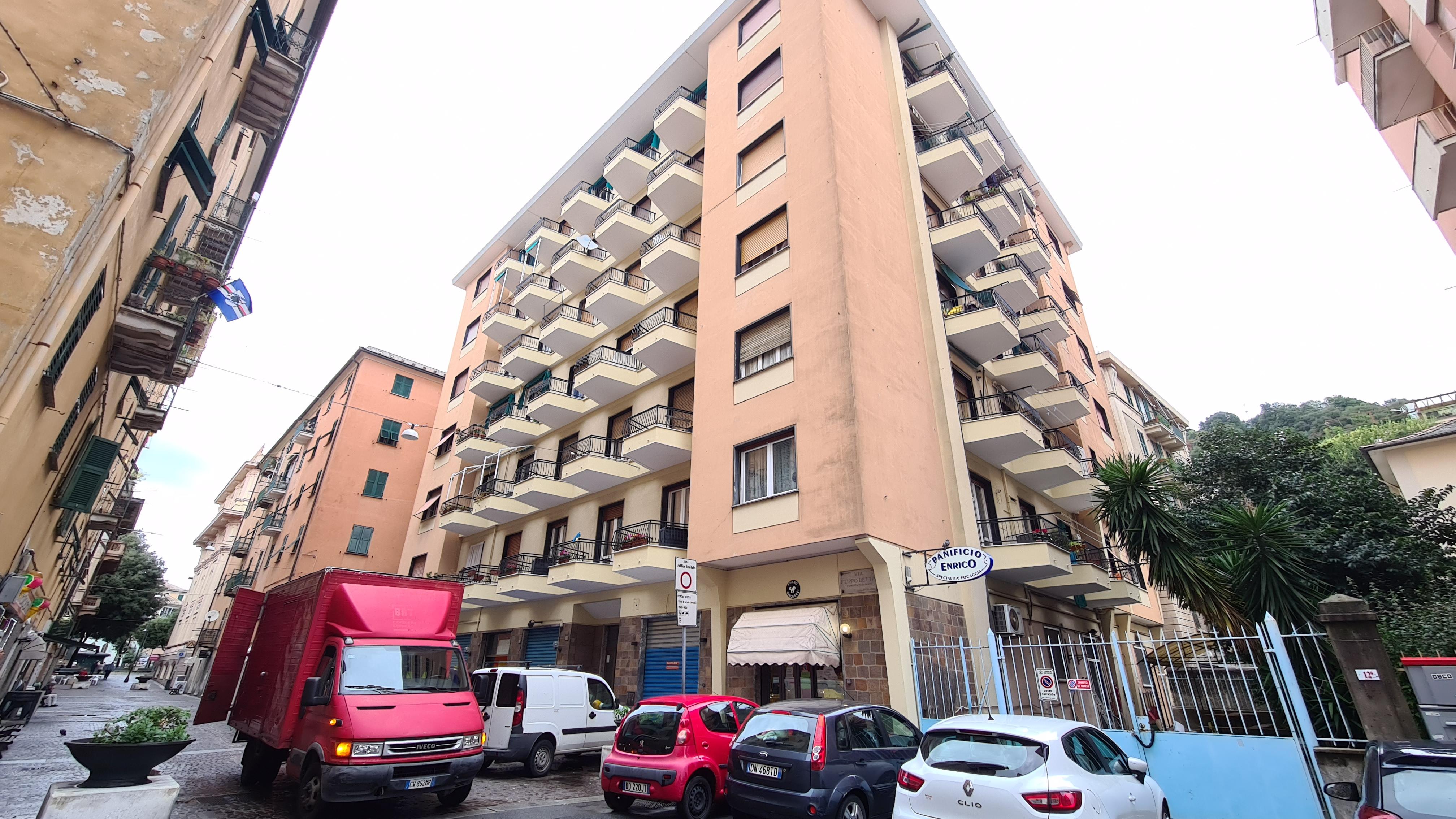 vendita appartamento via bettini bolzaneto
